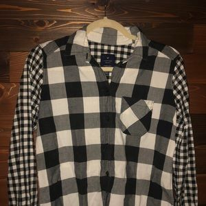 American Eagle Jegging Shirt Flannel XS